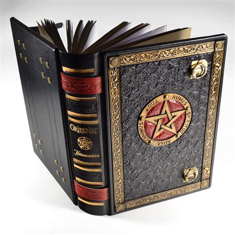 Handmade Grimoire - the great grimoire 12 4 x 9 1 inches journal by