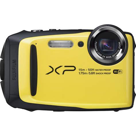 fuji finepix digital fujifilm finepix xp90 digital yellow 16500466 b h
