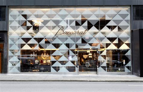 Fine Dining Floor Plan baccarat unveils new flagship store in new york city