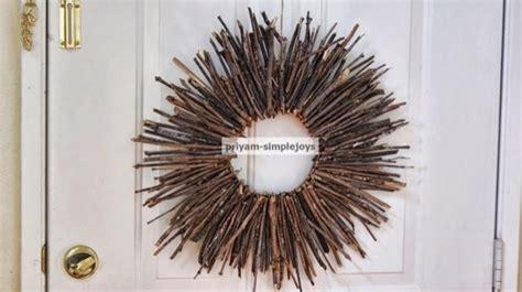 diy twig wreath make a twig wreath 187 dollar store crafts