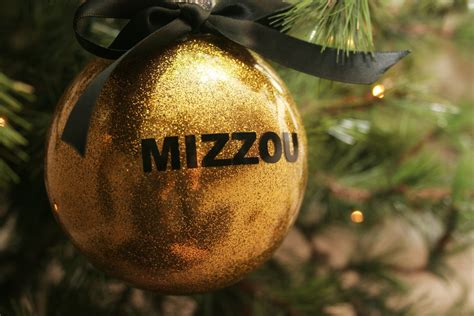 black gold christmas ornaments black or gold mizzou sec ornaments by lsembroidery