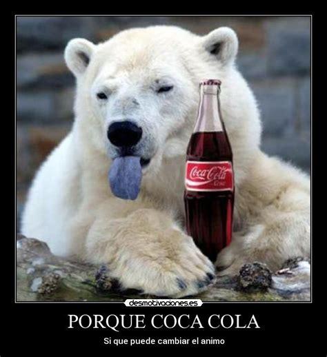 Polar Bear Coke Meme - usuario jessy panda desmotivaciones