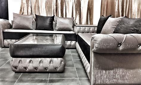 Ordinary Salon Oriental Gris  #2: Chester_similicuir_bengal_noir_gris.jpg