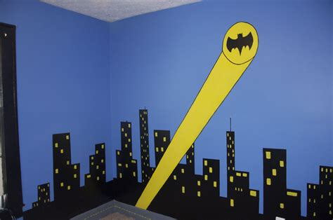 Batman Room Decor | sleeping in gotham city a batman bedroom