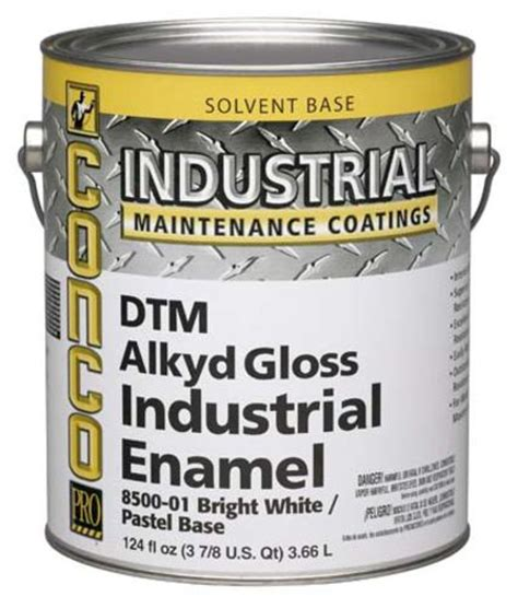 conco industrial gloss interior exterior dtm alkyd enamel 1 gal at menards 174