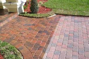 Sealer For Patio Pavers Paver Sealing Vs Polymeric Sand Paver Cleaning Sealing Dayton Cincinnati Columbus Oh