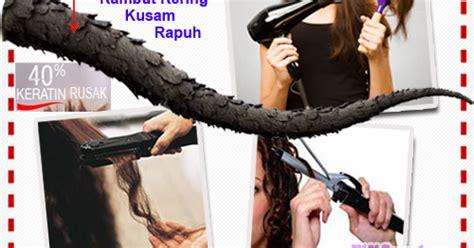 Catok Uap 3 langkah kembalikan kesuburan rambut gara gara alat