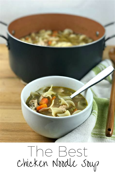 Great Chicken Soup by Recipe The Best Chicken Noodle Soup More Than Your