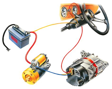 car alternator wiring diagram car alternator parts