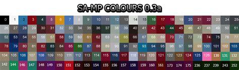 color id color id sk sa mp wiki