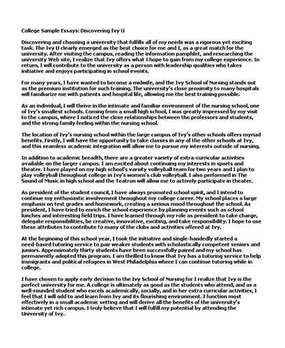 College Application Essay Bad Exles Bad College Essay Exles Exles