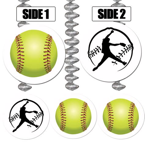 fastpitch softball decorations images