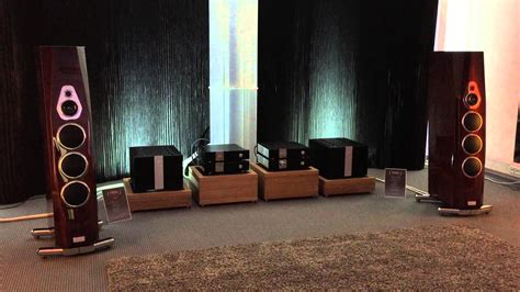 a room ending tidal acoustics room at munich high end audio show 2015