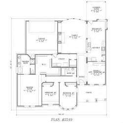 one story house plans with large kitchens myideasbedroom com