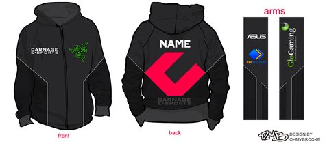 hoodie jersey design carnage e sports jersey hoodie design by ohmybrooke on