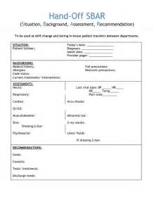 sbar template nursing 25 best ideas about report sheet on toe