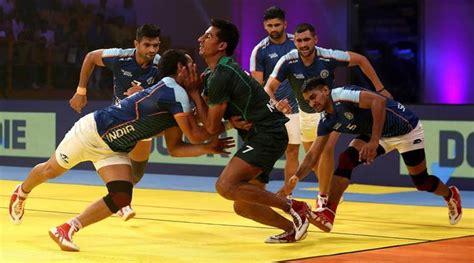 kabaddi masters dubai 2018 india iran book semifinal