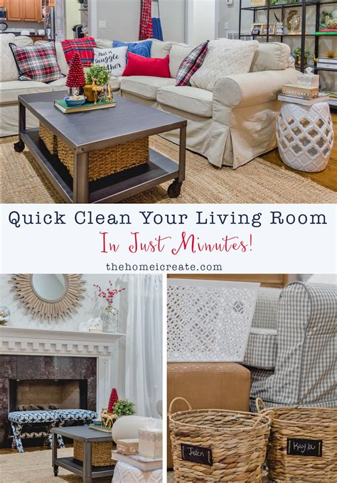 how to clean your living room quick clean your living room in just minutes the home i
