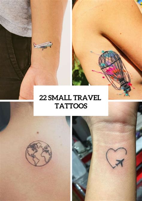 tattoo inspired home decor 22 small travel inspired tattoos for women styleoholic