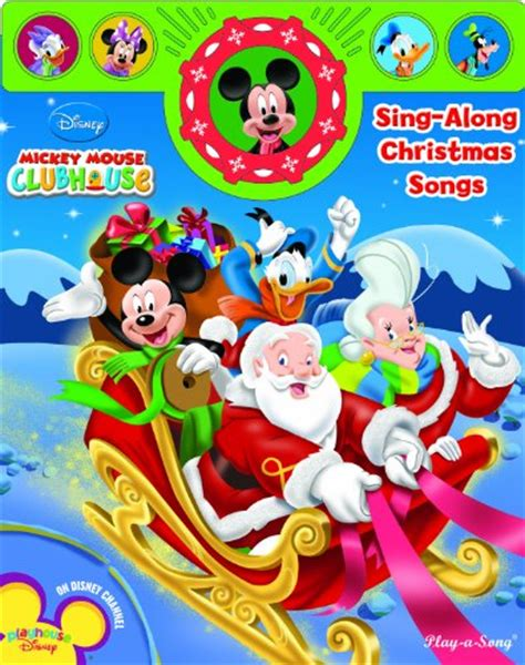 mickey mouse clubhouse christmas mickey mouse clubhouse sing along mickey mouse books