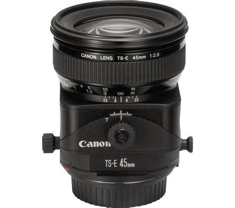 Canon Ts E 45mm F 2 8 canon ts e 45 mm f 2 8 tilt shift lens deals pc world