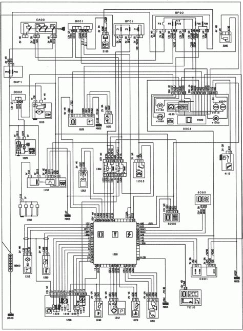 peugeot 306 window wiring diagram peugeot automotive