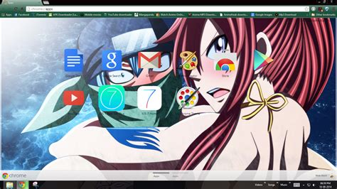 facebook themes fairy tail erza and jellal funny fairy tail chrome theme by p by