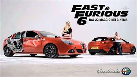 Fast And Furious 6 Alfa Romeo alfa romeo giulietta fast and furious 6