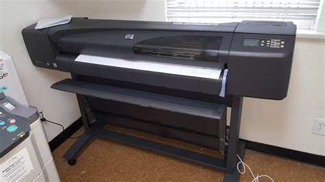 hp designjet 800ps 42 quot color plotter with stand