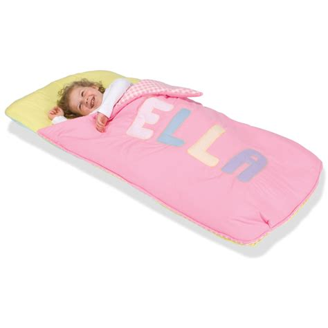 personalized youth sleeping bag hammacher schlemmer