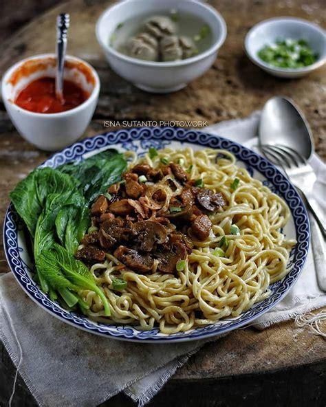 resep mie ayam jamur simpel  sehat aroma rasa