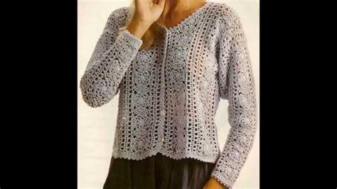 como hacer un sueter tejido a crochet como tejer sweater dama con cuadros a crochet para