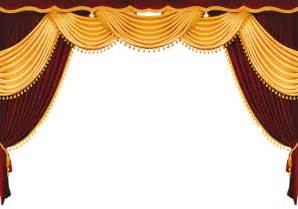 Free red velvet theatre curtains backgrounds for powerpoint border