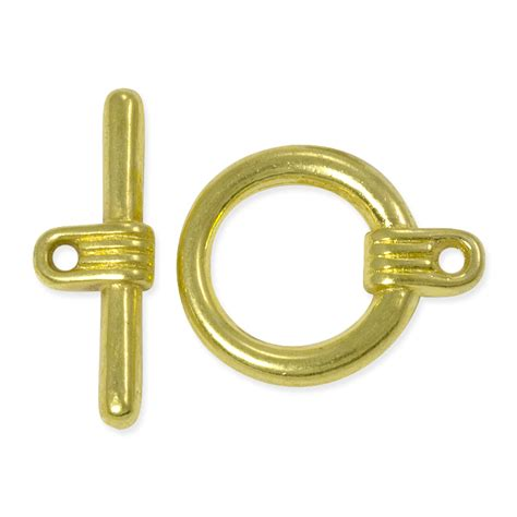 toggle clasps for jewelry clasp toggle 16mm base metal gold plated jewelry