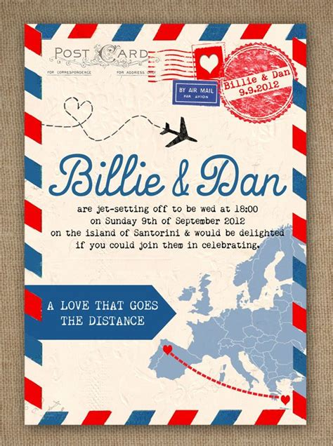 Pin By Kitti Szil 225 Gyi Todd On For The Bestest Day Travel Wedding Invitations Template
