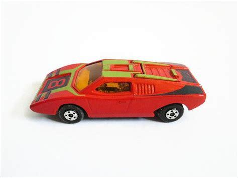 matchbox lamborghini car lamborghini countach vintage car matchbox superfast