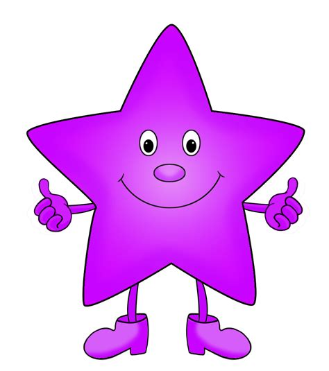 star clipart funny pencil and in color star clipart funny