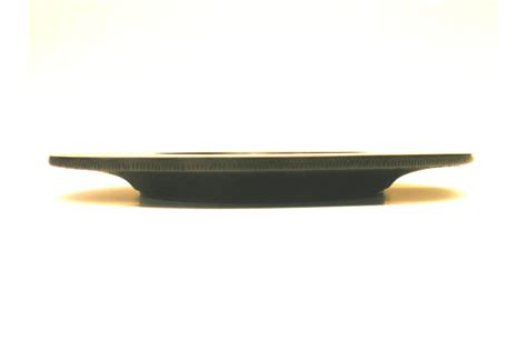 Maple Kitchen Furniture Black Fan Wooden Platter Hand Carved Wide Rimmed Wood