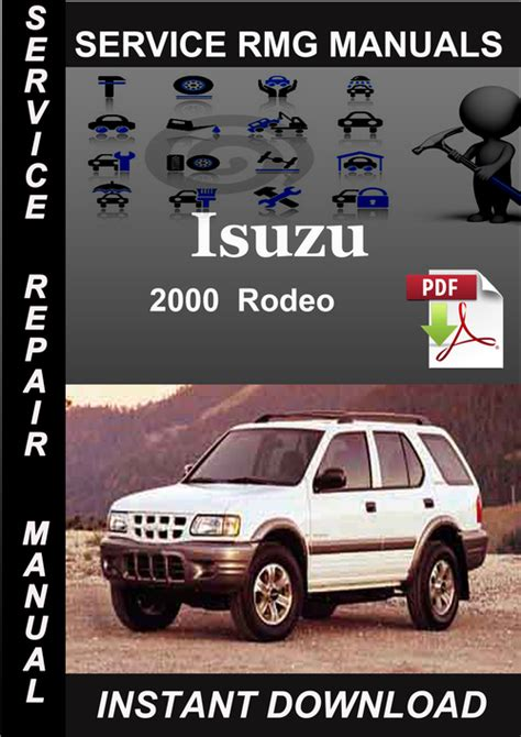 free online auto service manuals 2000 isuzu hombre space seat position control service manual 2000 isuzu rodeo workshop manuals free pdf download 2000 isuzu rodeo workshop