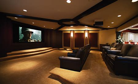 pictures basement home theater goes widescreen techeblog
