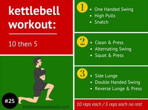 kettlebell swing tutorial 10 then 5 kettlebell workout full video tutorial