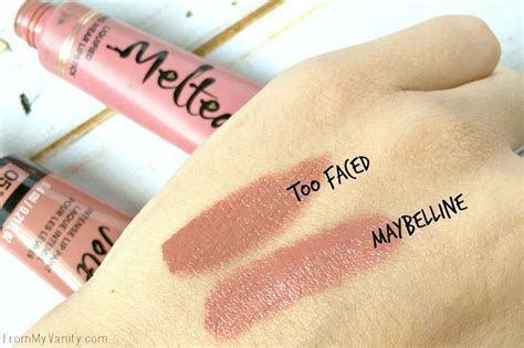 Faced Melted Chihuahua dupe or dud faced melted vs maybelline color jolts