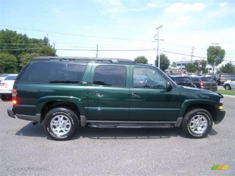 chevrolet suburban 2003 green metallic 2003 chevrolet suburban 1500 z71 4x4