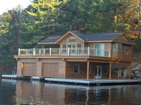 about boat house custom boathouse
