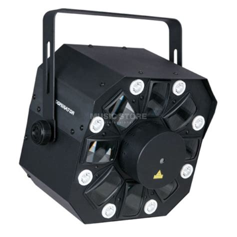 lade strobo showtec dominator 3 in 1 effekt led strobe laser
