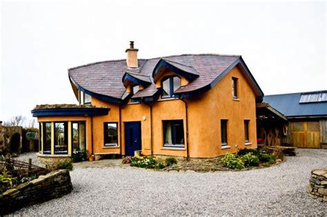 modern cob home