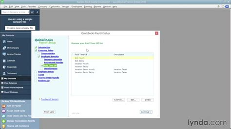 tutorial on quickbooks payroll choosing other paycheck additions and deductions