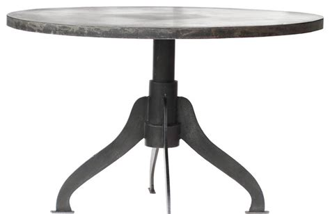 awesome metal dining table 2 industrial design
