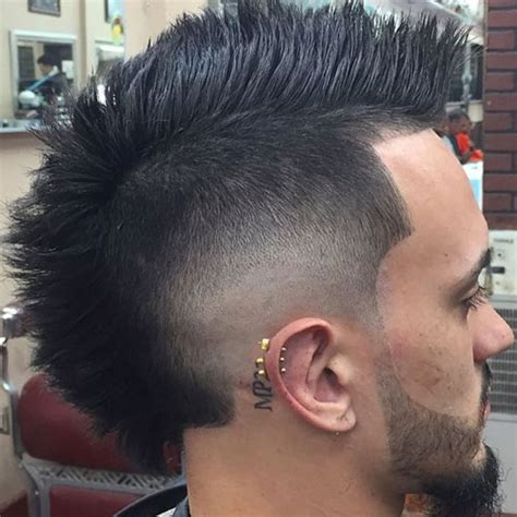 can women with a mahawk hair xut put weave in hair 30 mohawk hairstyles for men