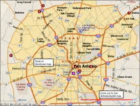 san antonio map view